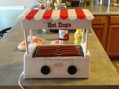 nostalgia electrics vintage collection old fashioned hot dog roller hdr565 walmartcom - Hot Dog Warmer