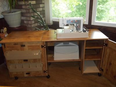 Sauder Sewing And Craft Table, Multiple Finishes   Walmart.com