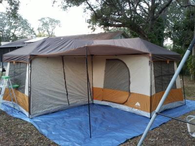 Ozark Trail 12 Person 3 Room Cabin Tent Com & Ozark Trail 12-person 3-room Cabin Tent - talentneeds.com -