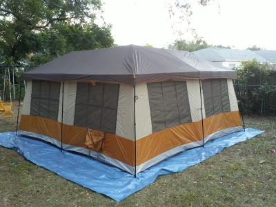 walmart.com & ozark trail cabin tent with screen room 14x12 instructions