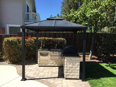Gazebo walmart affordable mainstays gazebo uamp x uamp walmart with gazebo walmart amazing Better homes and gardens gazebo