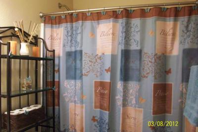 Butterfly Blessings Shower Curtain and Hook Set - Walmart.com