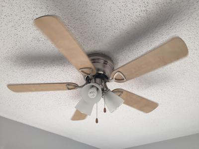 Chapter 42 3 light satin nickel ceiling fan walmart mozeypictures Gallery