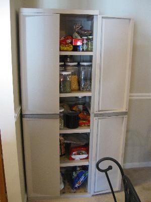 sterilite 4 shelf cabinet, flat gray - walmart
