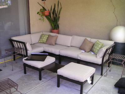 Ragan Meadow 7 Piece Outdoor Sectional Sofa Set Seats 5