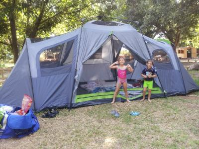Superbe ... Person 3 Room Xl Family Cabin Tent. Ozark Trail Instant Family Tent  Walmartcom