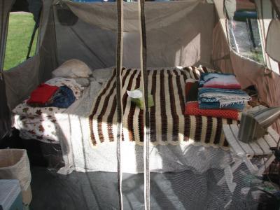& Coleman Weathermaster 6 screened 17x9 Tent - Walmart.com
