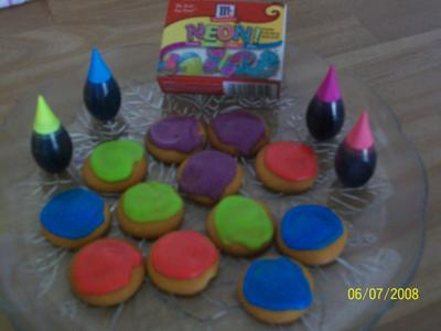 McCormick Neon! Food Color & Egg Dye - 4 CT - Walmart.com