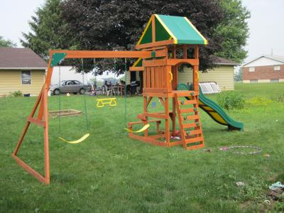 Woodridge Swing Set Backyard Discovery Woodridge Ii All Cedar Swing