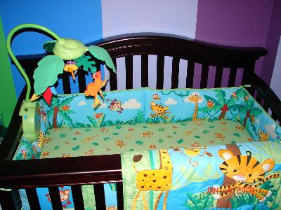 Rainforest Crib Bedding Set Bedding Queen