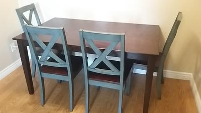 Superb Better Homes And Gardens Maddox Crossing Dining Chair, Blue, Set Of 2    Walmart.com