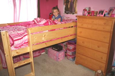 - Canwood Whistler Junior Twin Wood Loft Bed, Natural - Walmart.com