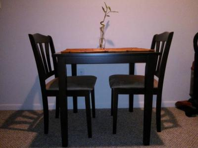 Metropolitan 3 Piece Dining Set, Multiple Finishes   Walmart.com