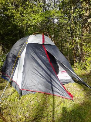 & Coleman Tent Max Backpacking 2 Person C002 - Walmart.com