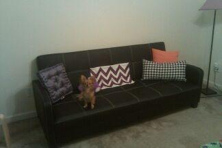 DHP Delaney Futon Couch Sofa Sleeper, Multiple Colors   Walmart.com