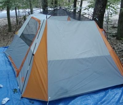 & Ozark Trail 9` X 8` Dome Tent - Walmart.com