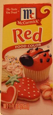 McCormick Red Food Coloring, 1 Fl oz - Walmart.com