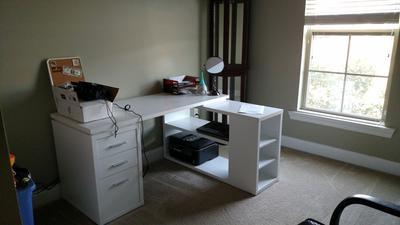 office desk walmart. coaster yvette collection lshaped reversible desk multiple colors walmartcom office walmart