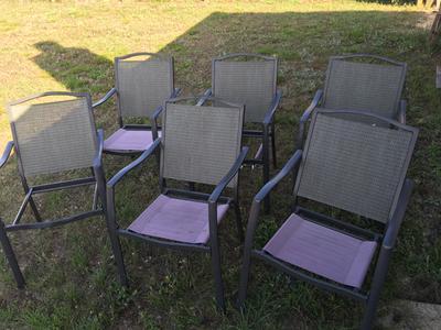 Mainstays Oakmont Meadows 7Piece Patio Dining Set Seats 6