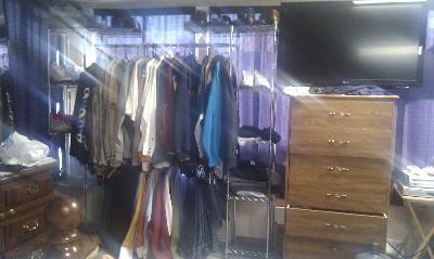 Compelling Seville Clics Expandable Closet Organizer Str05813