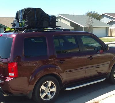 BCP Universal Roof Rack Cargo Car Top Luggage Carrier Basket Traveling SUV  Holder   Walmart.com