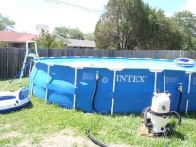 intex 24 x 52 ultra frame above ground swimming pool walmartcom