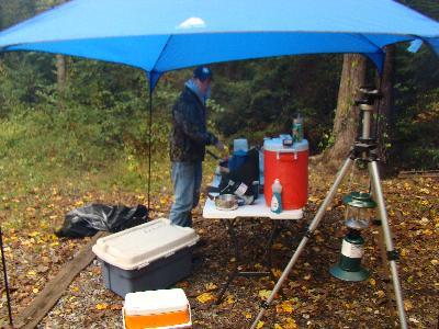 & Ozark Trail 9u0027 x 9u0027 Dining Canopy - Walmart.com