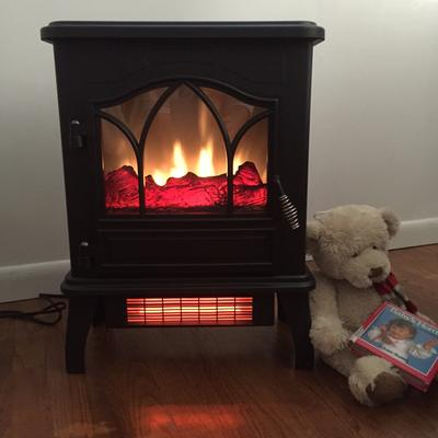 ChimneyFree Electric Infrared Quartz Stove Heater, 5,200 BTU ...