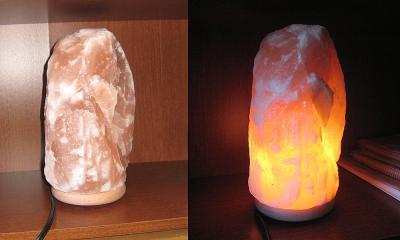 Himalayan Ionic Natural Salt Lamp (approx. 11 lbs) - Walmart.com