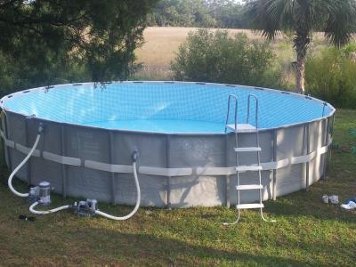 intex 24 x 52 ultra frame swimming pool walmartcom