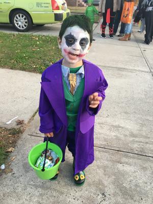 Batman Joker Deluxe Child Halloween Costume - Walmart.com
