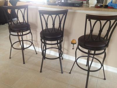 Better Homes and Gardens Adjustable Barstool Oil Rubbed Bronze Walmart