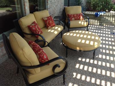 Better Homes And Gardens Englewood Heights II Aluminum 4 Piece Patio  Conversation Set, Seats 4   Walmart.com