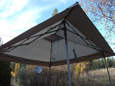 Coleman 13 X Straight Leg Back Home Instant Shelter 169 Sq Ft Coverage