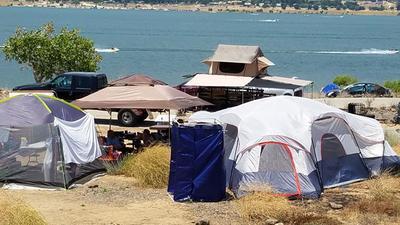 & Ozark Trail 20 Person Cabin Tent - Walmart.com