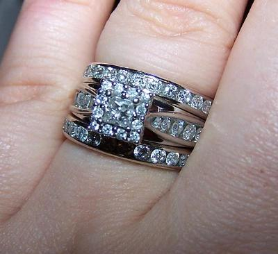 Keepsake Melody 1/2 Carat T.W. Certified Diamond 10kt White Gold Ring    Walmart.com