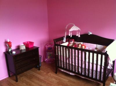 Bella 4 Piece Nursery Set, Espresso   Walmart.com