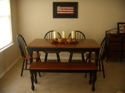 Better Homes&gardens Solid Wood Dining Table - Walmart.com