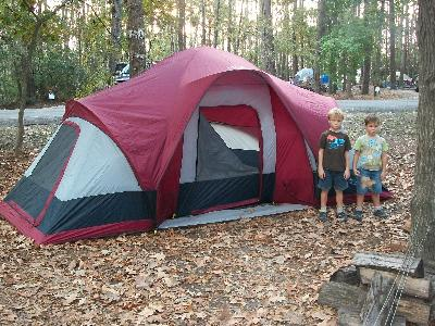 & Wenzel Sycamore 3 room Family Dome Tent - Walmart.com