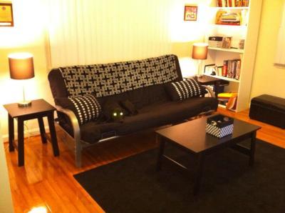 Superb Sauder Beginnings Collection Side Table, Black   Walmart.com