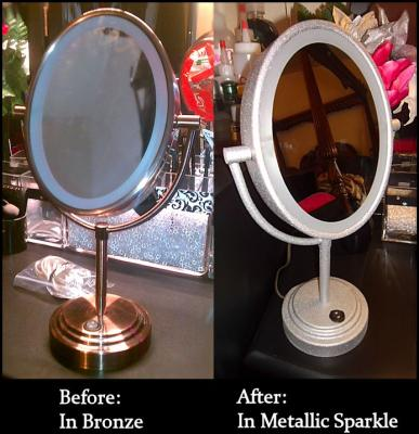 Conair be47br double sided oval lighted makeupshaving mirror conair be47br double sided oval lighted makeupshaving mirror bronze walmart mozeypictures Gallery