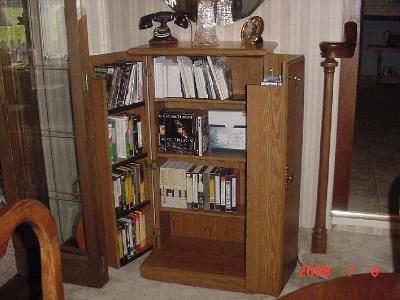 sauder orchard hills multimedia storage cabinet carolina oak walmartcom