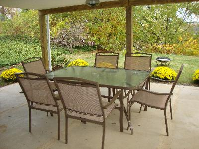 Mainstays Sand Dune 7 Piece Patio Dining Set, Seats 6   Walmart.com