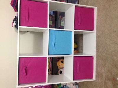 ClosetMaid Cubeicals 9 Cube Organizer, White   Walmart.com