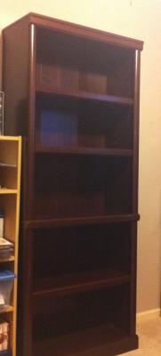 Better Homes and Gardens Ashwood Road 5 Shelf Bookcase Multiple