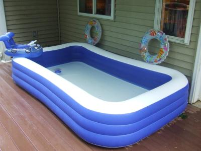 My Sunshine 120 X 72 22 Deluxe Family Inflatable Swimming Pool