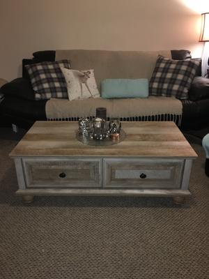 Better Homes And Gardens Crossmill Coffee Table Multiple Finishes Walmart Com