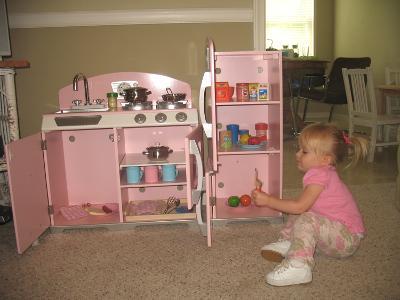 Exceptionnel KidKraft Pink Retro Kitchen U0026 Refrigerator   Walmart.com