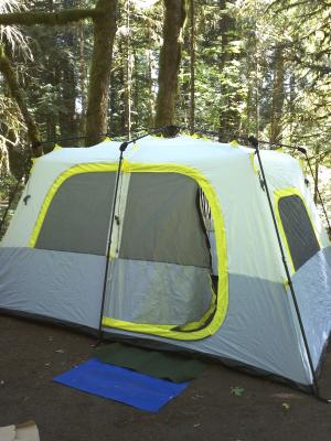 & Coleman Instant Set-Up 8-Person Tent 13u0027 x 9u0027 - Walmart.com