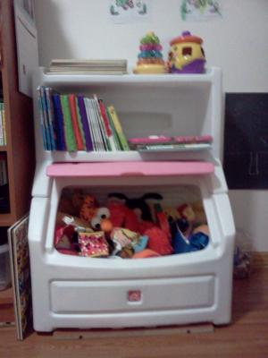 Lift And Hide Bookcase Storage Chest Choose Your Color